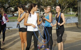 miss world skipping ropes