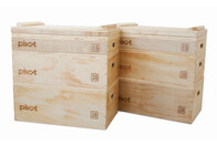 Bodyworx Commercial Wooden Jerk Blocks Set | Free Freight