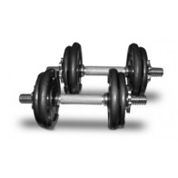 Bodyworx 20kg Dumbbell Kit in Colour Carton | Free Freight